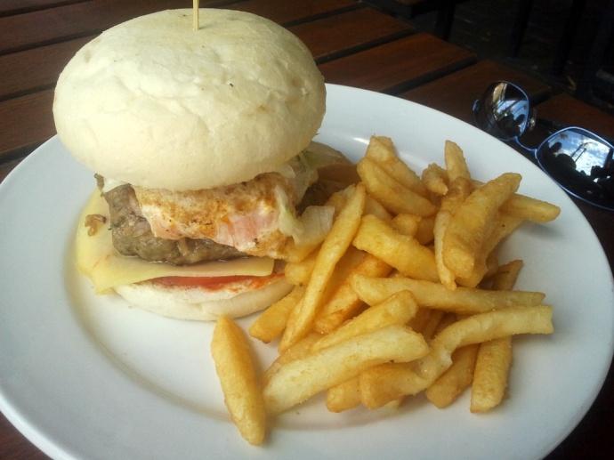 Light Hotel burger